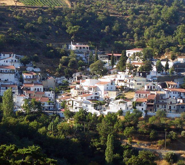 Το χωριό Αφροδίσια στην περιοχή Αμανή της Χίου