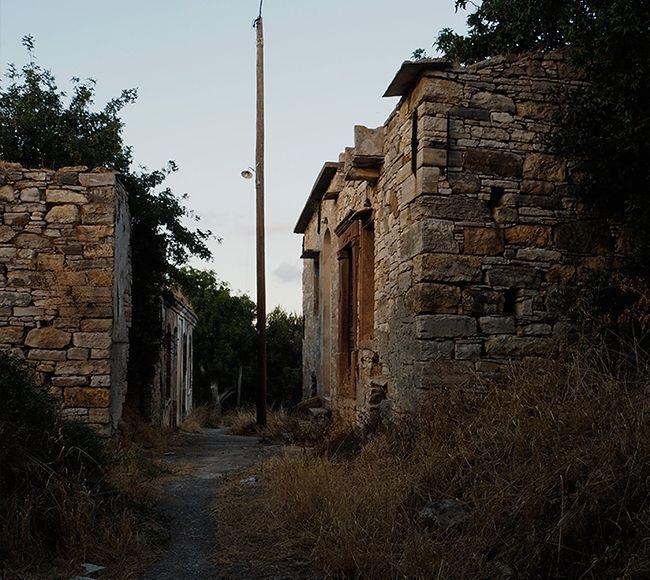 Ένα απο τα μικρότερα χωριά της Νότια Χίου η Έξω Διδύμα