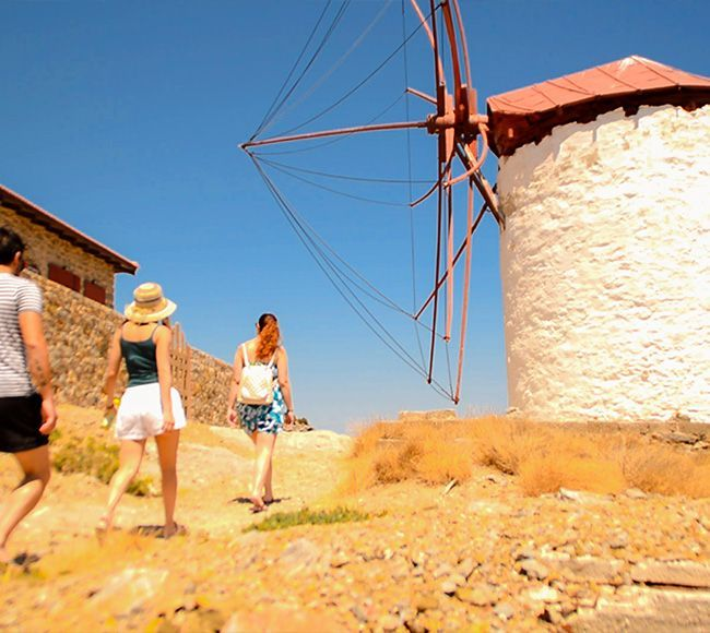 Τα Καρδάμυλα είναι το μεγαλύτερο χωριό της Βορειοανατολικής Χίου